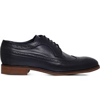 Kurt Geiger Archie Leather Brogues Navy