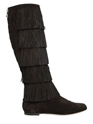 Paul Andrew 10Mm Irving Fringed Leather Boots