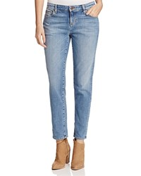 Eileen Fisher Boyfriend Jeans In Sky Blue