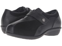 Propet Diana Strap Black Women's Hook And Loop Shoes