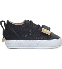 Buscemi 50Mm Baby Suede Trainers Black