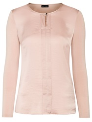 Gerry Weber Satin Trimmed Blouse Rose