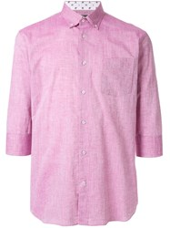 Loveless 3 4 Sleeve Shirt Pink