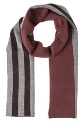 Lyle And Scott Scarf Claret Jug Bordeaux
