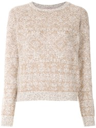 Cecilia Prado Emma Knitted Top Neutrals