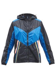 The Upside Colour Block Technical Track Jacket Navy Multi