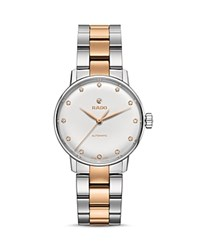 Rado Coupole Classic Watch With Diamonds 32Mm White Rose