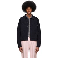 Paul Smith Ps By Navy Four Pocket Work Jacket