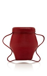 Rosie Assoulin Mini Jug Bag Red