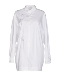 Who S Who Shirts Blouses Women White