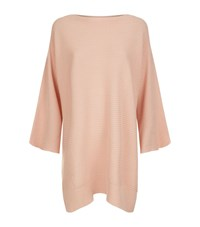 Harrods Of London Batwing Cashmere Jumper Female Pink