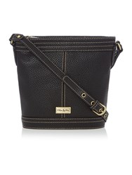 Ollie And Nic Gregory Black Bucket Crossbody Bag Black