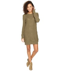 Volcom Chained Down Dress Military Women's Dress Olive