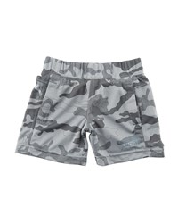 The North Face Mak Jersey Camo Shorts Size 2 4T Cosmic Blue Camo