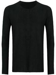 Label Under Construction Arched Sweater Black