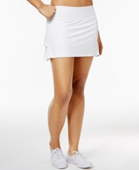 Ideology Tennis Skort Only At Macy's Bright White