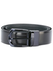 Ermenegildo Zegna Skinny Belt Men Calf Leather 110 Black