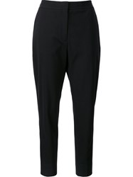 Alexander Wang High Waisted Tailored Trousers Black