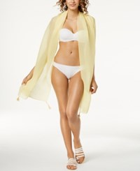 Inc International Concepts I.N.C. Tassel Pleated Wrap Created For Macy's Yellow