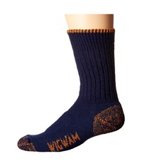 Wigwam All Weather Crew Navy Crew Cut Socks Shoes