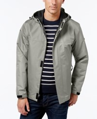 London Fog Big And Tall Lightweight Hooded Jacket Stone