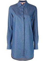 Brock Collection Oversized Shirt Blue
