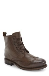 Blackstone Women's 'Km24' Wingtip Boot Truffle