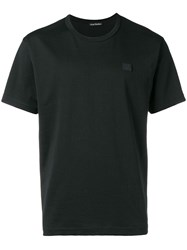 Acne Studios Nash Face T Shirt Black