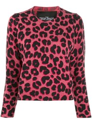 Marc Jacobs The Printed Sweater Pink