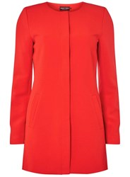 Dorothy Perkins Only Red Formal Coat
