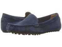 Aerosoles Over Drive Navy Suede Women's Slip On Shoes Blue