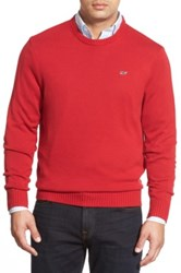 Vineyard Vines 'Whale' Classic Fit Cotton Crewneck Sweater Red