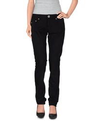 Pinko Denim Denim Trousers Women Black