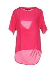 Space Style Concept Shirts Blouses Women Fuchsia