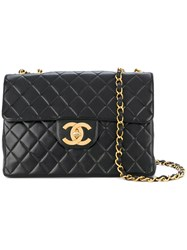 Chanel Vintage Jumbo Bag Black