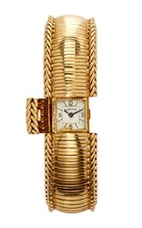 Simon Teakle Cartier Bracelet Watch Gold