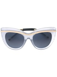 Boucheron Cat Eye Sunglasses Grey