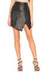 By The Way Ashlyn Rhinestone Skirt Black
