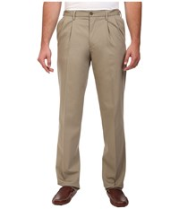 Dockers Big Tall Signature Khaki D3 Classic Fit Pleated Timber Wolf Men's Clothing Beige