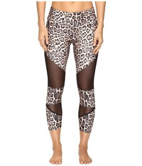 Onzie Cut Out Capris Leopard Women's Capri Animal Print