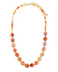 Emily And Ashley Blush Stone Necklace