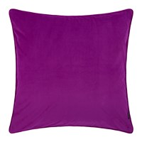 Amara Velvet Cushion Grape Purple