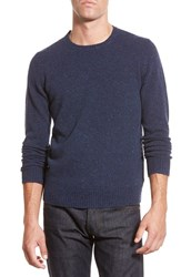 Men's Bonobos Merino Wool Crewneck Sweater Navy