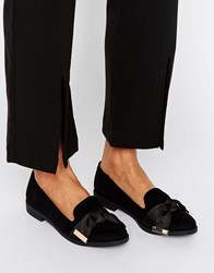 Miss Kg Monica Tassle Loafers Black