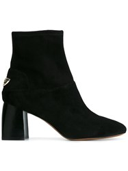 Tory Burch 'Sidney' Ankle Boots Black