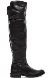 Frye Shirley Over The Knee Flat Boot Black