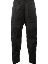 Ziggy Chen Combat Trousers Black