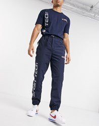 Tommy Jeans Sport Tech Nylon Pant In Navy
