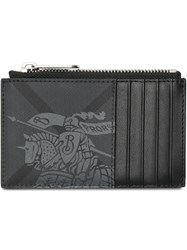 Burberry London Check Cardholder Grey