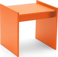 Loll Designs Sofia Outdoor Side Table Sunset Orange